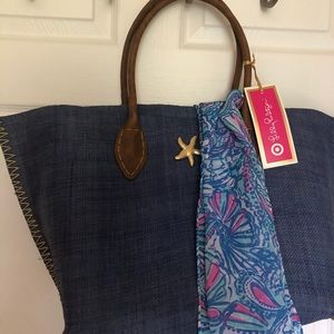 Lilly Pulitzer for Target-Tote with scarf